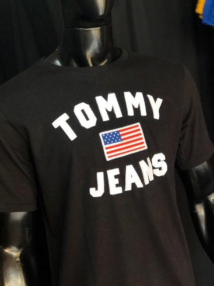 Camisetas Tommy Hilfiger Estampada Original.