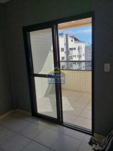 Imagem 1 de 28 de Apto Com 2 Dorms, Tupi, Praia Grande - R$ 310 Mil - Vact1393