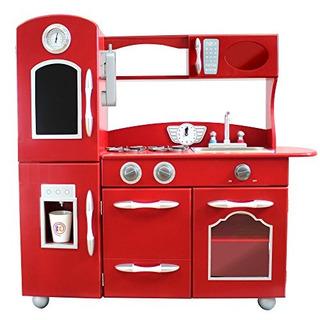 Juego De Cocina My Little Chef Teamson Kids Wooden Play 1 Pi