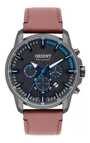 Relógio Orient Masculino Cronógrafo Grafite Myscc006 G1mx