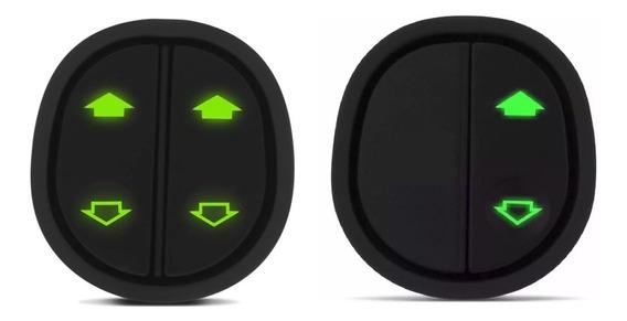 Par De Botões De Vidro Elétrico Ford Ka G2 Interruptor Botão