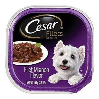 Cesar Filetes En Salsa De Adulto Wet Dog Food