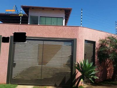 Sobrado Com 3 Dormitórios Para Alugar, 320 M² Por R$ 1.300/mês - Jardim Europa - Anápolis/go - So0143
