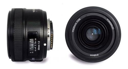 Lente Yongnuo Yn 35mm F/2 Para Nikon