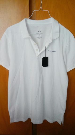 Camiseta Tipo Polo Armani