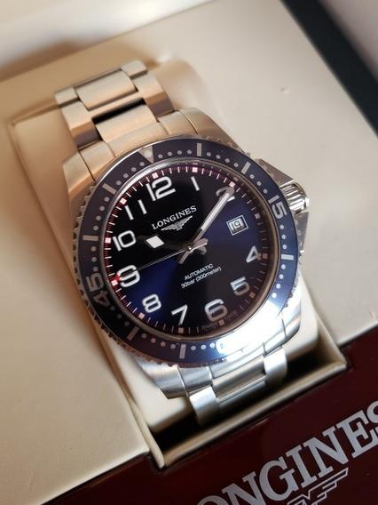 Relógio Longines Hydroconquest Automático Azul 41mm