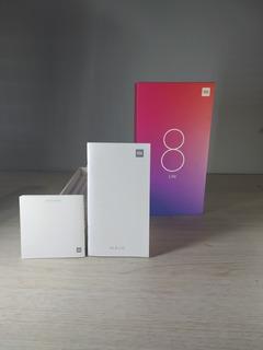 Caixa Xiaomi Mi 8 Lite Com Manuais