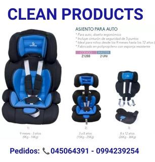 Asiento De Auto Para Niños Marca Crecer - Entrega Gratis