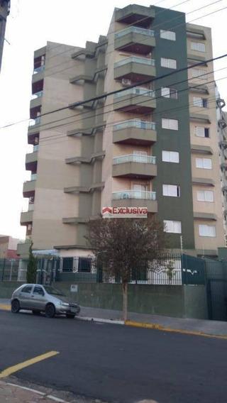 Apartamento Com 3 Dormitórios À Venda, 113 M² Por R$ 600.000 - Jardim Vista Alegre - Paulínia/sp - Ap0187