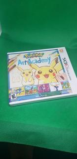 Pokemon Art Academy 3ds Nuevo Y Sellado