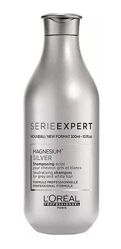 Shampoo Loreal Silver X 300ml Lucianoleohairdesign.