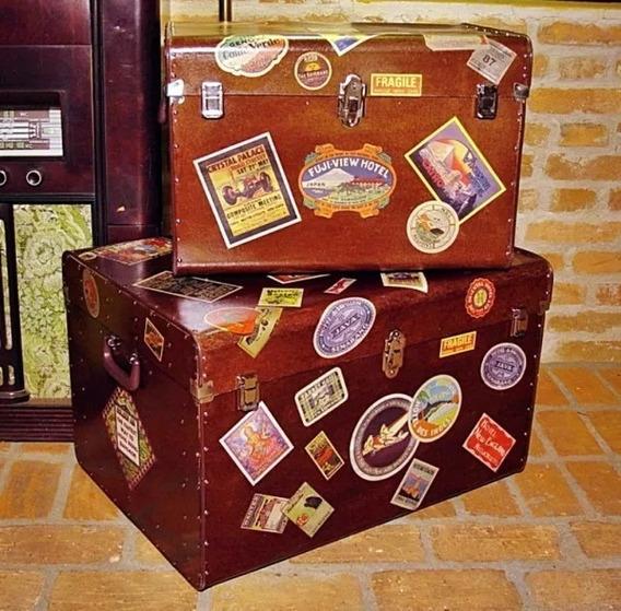 Kit Bau Vintage Mala Antiga Retro