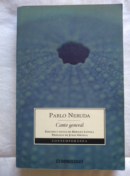 Pablo Neruda Canto General - Edição Em Espanhol