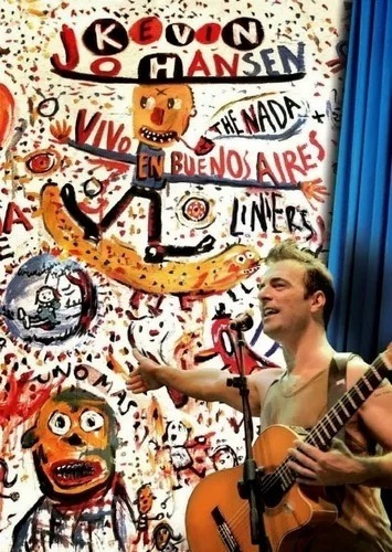 Dvd Kevin Johansen -the Nada+liniers En Mexico-