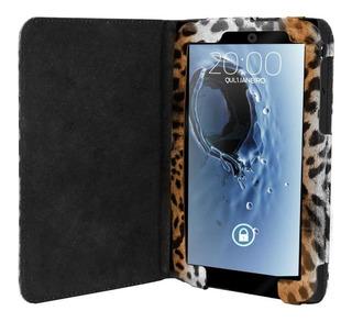 Capa Case Tablet Galaxy Tab 2 7 Case Onça Marrom Claro