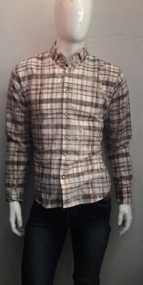 Camisa Hombre Beige