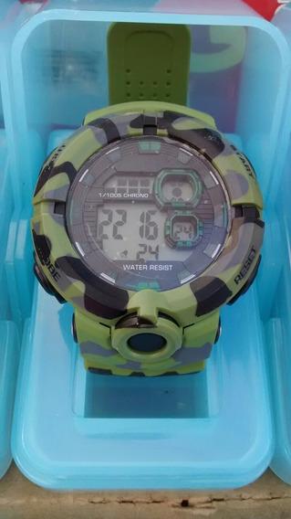 Relógio Militar Camuflado Exército Americano Barato Promoção