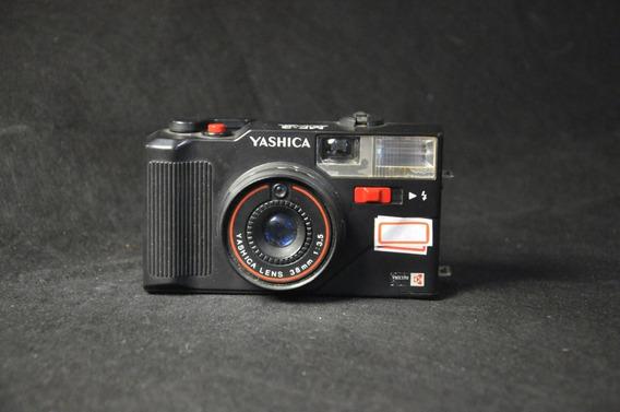 Câmera Yashica Mf-3 Super Antiga Usada Para Coleção