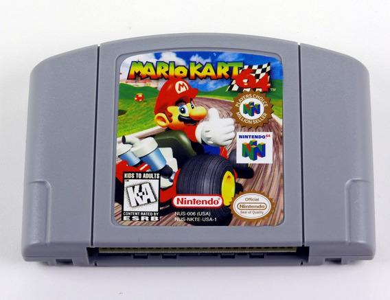 Mario Kart 64 Nintendo 64 N64 - Americano Novo Salvando