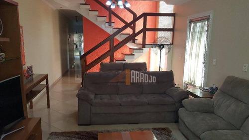 Imagem 1 de 20 de Sobrado Com 4 Dormitórios À Venda, 176 M² Por R$ 850.000,00 - Vila Buenos Aires - São Paulo/sp - So0770