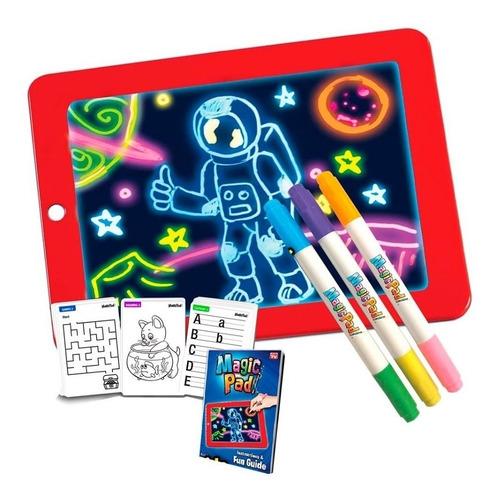 Imagen 1 de 3 de Magic Pad Pizarra Mágica Para Niños Tienda Física