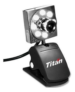 Webcam 12mega 1600x1200 Microf. 8led Zoom 360º Titan Belgrano