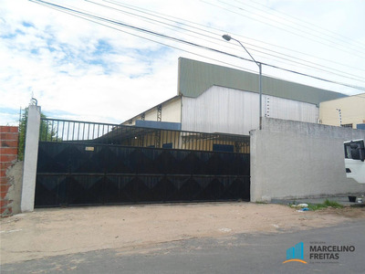 Galpão Comercial À Venda, Messejana, Fortaleza - Ga0023. - Ga0023