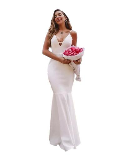 b85af9e9ccd5 Vestidos Para Madrinhas Casamento Sereia - Vestidos Femeninos De ...