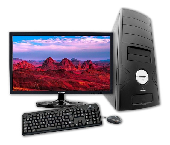 Computador + Monitor 18.5 Concordia Amd Fx 4300 4gb Hd