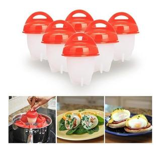 Silicona Para Huevo Hervidor De Huevos Egg Boil X 6 Unidades