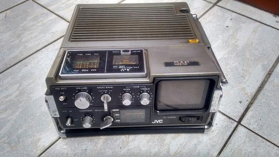Mini Tv Jvc Com Rádio Am, Fm, Psb
