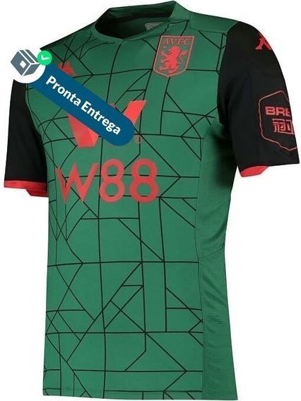 Camisa Aston Villa 3º Unif. 19/20 - Pronta Entrega