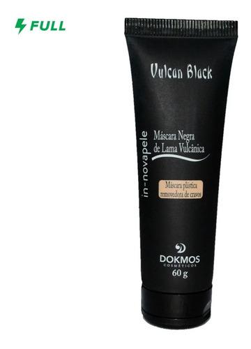 Imagem 1 de 5 de Máscara Negra Tira Cravos - Vulcan Black 60g Limpeza Facial