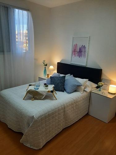Imagem 1 de 23 de Apartamento À Venda, 2 Quartos, 1 Vaga, Parque Maracanã - Contagem/mg - 22211
