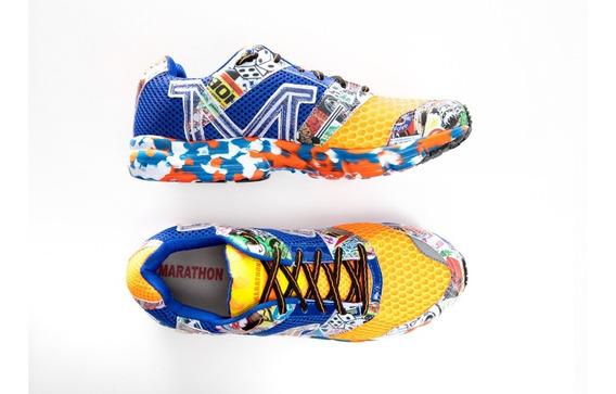 Tenis Corrida Marathon Ref 4137 Sola Eva Caminhada Academia