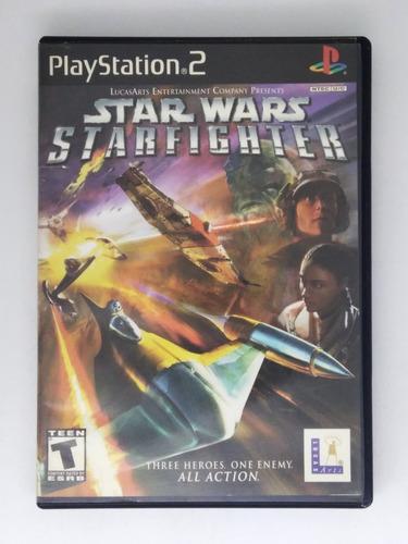 Star Wars Starfighter Ps2 Playstation Retromex Tcvg