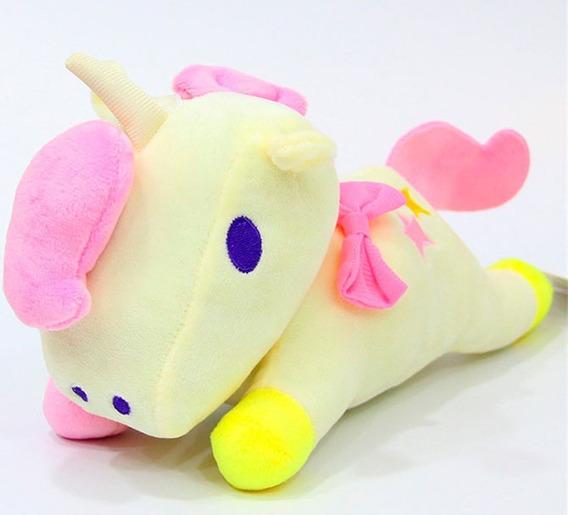 Unicornio Em Pelúcia Plush Fofinho E Charmoso 13 Cm Chaveiro