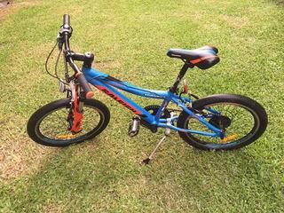 Bicicleta Raleigh Rowdy Rodado 20 Niño Aluminio 7 Vel
