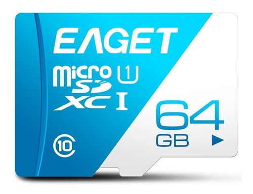 Memoria Micro Sd Memory Card Eaget T1-64 64gb Clase 10 Tf