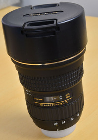 Lente Grande Angular Tokina 16-28 F 2.8 Pro Fx Para Nikon