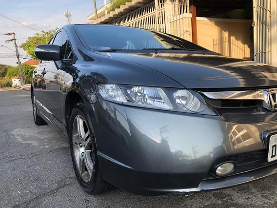 New Civic Exs 07/08 1.8 Cinza Automático