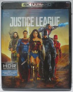 Liga De La Justicia Justice League 4k Ultra Hd + Blu-ray