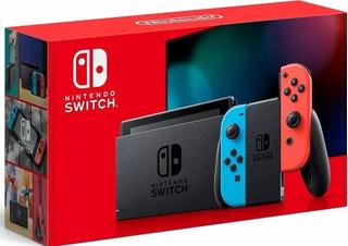 Nintendo Switch 1.1 Actualizacion De Bateria + 2 Juegos