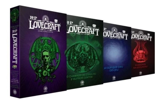 Box Hp Lovecraft - Os Melhores Contos ( 3 Volumes )
