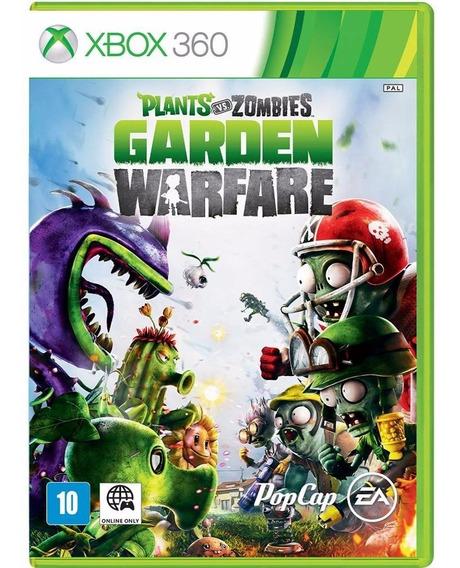 Plants Vs Zombies: Garden Warfare Xbox 360 - Mídia Física!