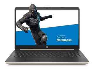 Notebook Hp Core I5 8gb 250gb Ssd 15.6 Windows 10 -en Cuotas