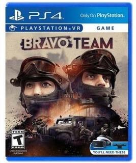 Bravo Team Playstation Vr - Juego Físico Ps4 - Sniper Game