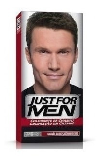 Just For Men Tintura En Shampoo Color Castaño