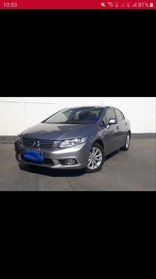 Honda Civic 1.8 Lxs Flex 4p 2014
