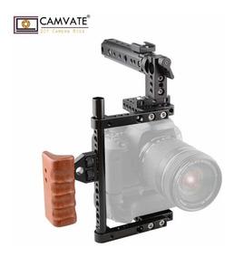 Cage Gaiola Camvate Original Para Dslr A7s Gh5 Outras C1561